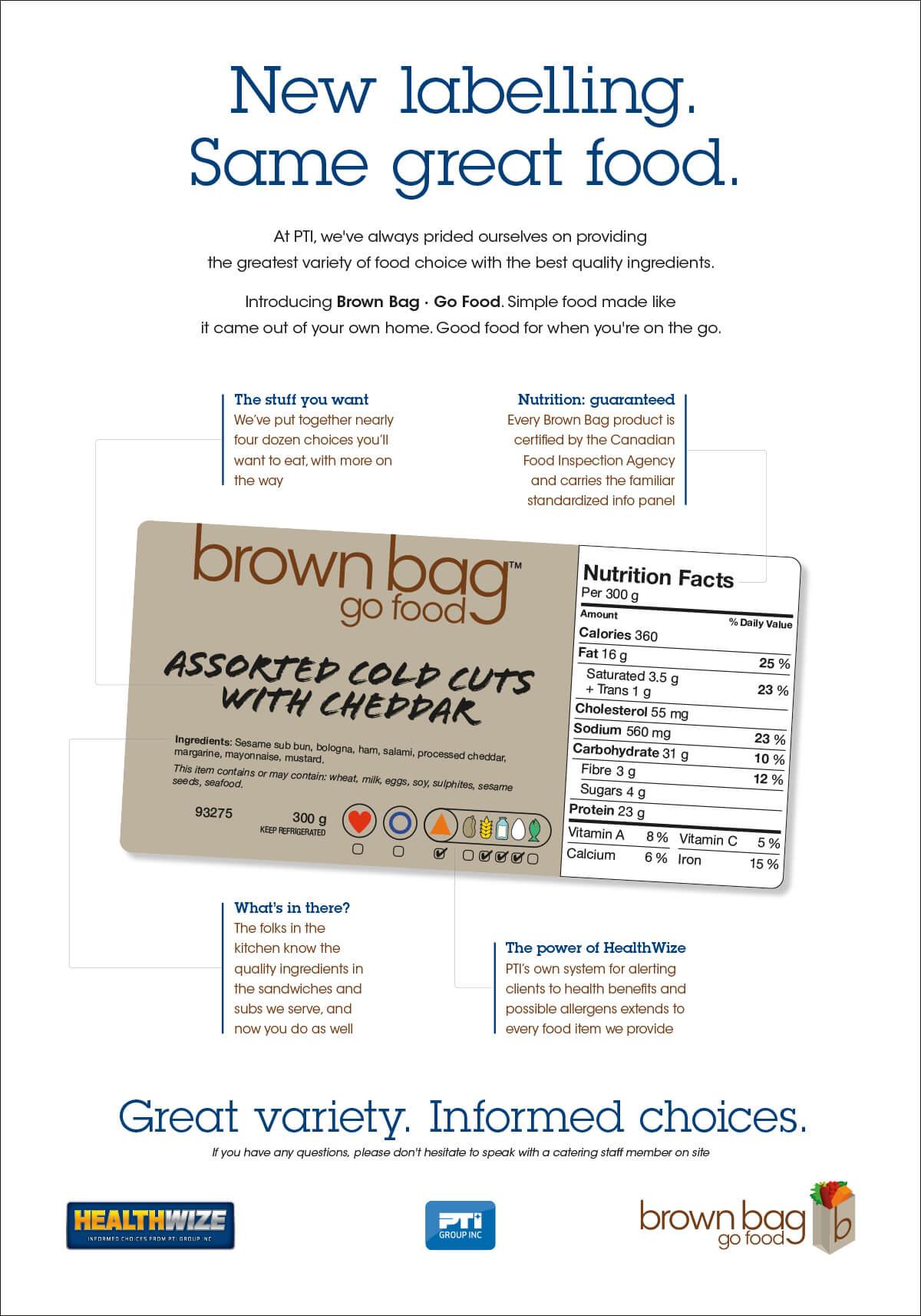 Brown Bag Poster