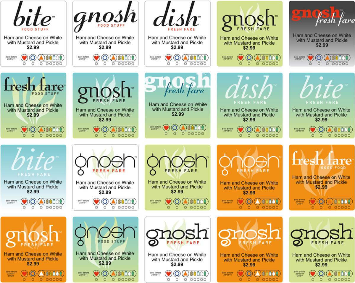 Gnosh Labels 3