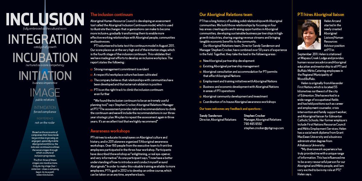 Aboriginal Relations Annual Report 8