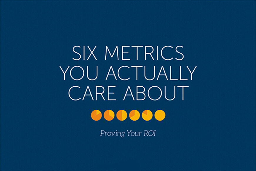 Six Metrics Brochure Feature